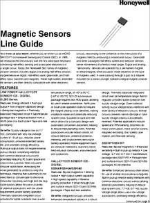 SS495A-SP datasheet - » » » Hall Effect / Magnetic Sensors
